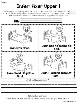 Inferences for Littles: Inferring Activities for Grades K-3