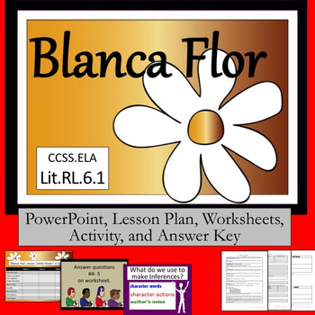 """Inferences in """"Blanca Flor"""" by Angel Vigil       Lesson Plan PLUS"""