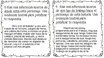 Inferences in Spanish (Inferencias)