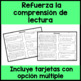 Inferences in Spanish - Inferencias - Reading Comprehension in Spanish