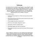 Inferences - novel study
