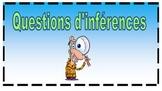Inférences questions