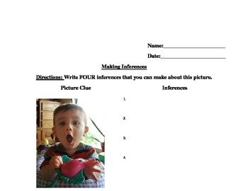 Inferences with Pictures