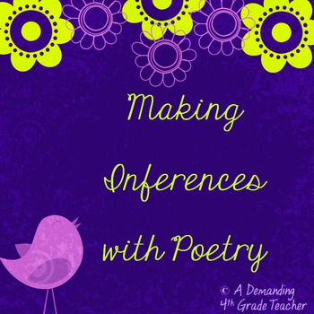 Inference poetry: Teach inferring through riddle poems