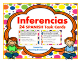 Inferencia - Inference SPANISH Task Cards