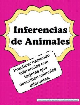 Inferencias de Animales