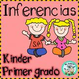 Inferencias para kinder y primer grado hojas de práctica f