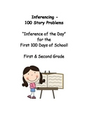 Inferencing - 100 Story Problems for the First 100 Days of School