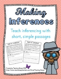 Inferencing No Prep Reading Passages