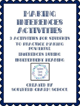 Inferencing Activities Packet