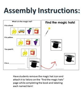 Categories Adapted Book Magic- Identify Pictures with Inferencing for Autism