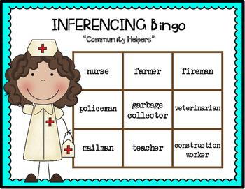 Inferencing BINGO {Community Workers}
