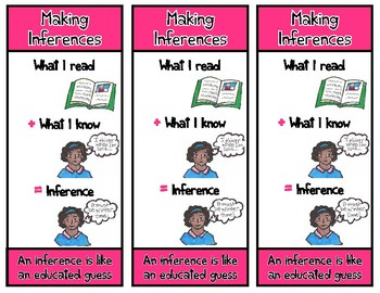 Inferencing Bookmark and Lesson