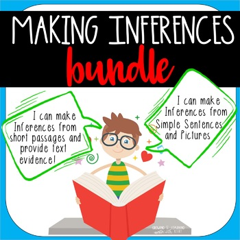 Inferencing Passages and Pictures Bundle!