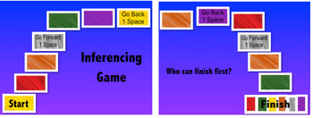 Inferencing Cards, Worksheets, and Game