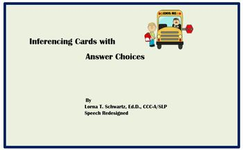 Inferencing Cards with Answer Choices