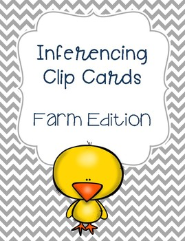 Inferencing Clip Cards - Farm Edition!