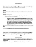 Inferencing Definitions Packet 1