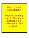 Inferencing:  Determining the Difference Between Inference
