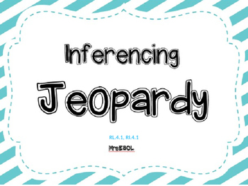 Inferencing Jeopardy