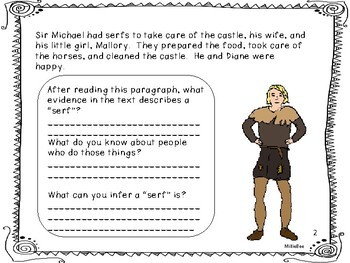 Text Evidence 2nd grade- Inferencing-