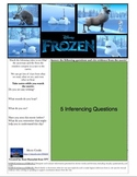 Inferencing, Main Idea, Multiple Meanings with video clip- Frozen!