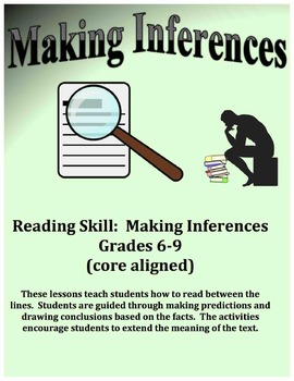 Inferencing – Making Inferences – Reading Between the Lines