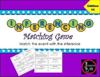 Inferencing Matching Game - Edition #2