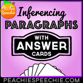 Inferencing Paragraphs Card Deck