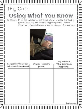 Inferencing Passages, Pictures, And Higher Order Questioning!