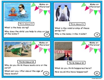 Inference Picture Task Cards