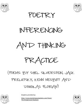 Inferencing Poetry Pack