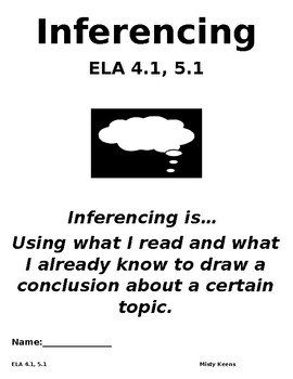 Inferencing Pre-Test