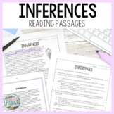 Inferences Reading Comprehension Passages and Questions fo