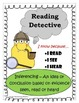 Inferencing  - Reading Detective