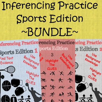 Inferencing Activities (Sports Edition Bundle)