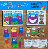Inferencing Stories:  Adapted Books For Practicing Basic I