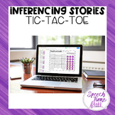 Inferencing Stories Tic Tac Toe Google Slides