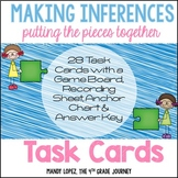 Inferencing Task Cards {28 Task Cards, Recording Sheet, Po