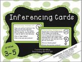 Inferencing Task Cards - 3-5 Grade {cc aligned} COMPLETE BUNDLE - cards 1-64