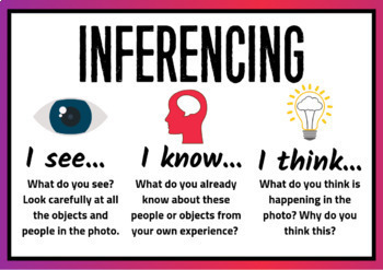 Inferencing Task Cards -  Inference with 84 Interesting Real Photos