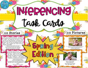 Inferencing Task Cards: Seasonal BUNDLE! - Distance Learning