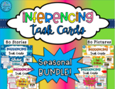 Inferencing Task Cards: Seasonal BUNDLE! - Distance Learning