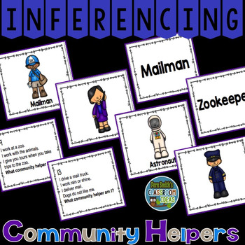 Inferencing Task Cards with Community Helpers