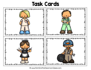 Inferencing Task Cards with Community Helpers Part 2