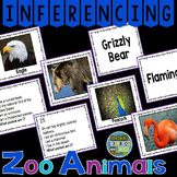 Inferencing Task Cards with Zoo Animals