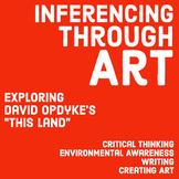 Inferencing Through Art + Raising Environmental Awareness: