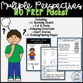 Inferencing & Understanding Multiple Perspectives Unit - NO PREP
