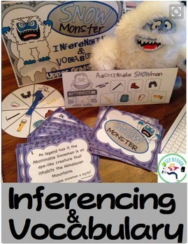 Inferencing & Vocabulary Adventure Bundle