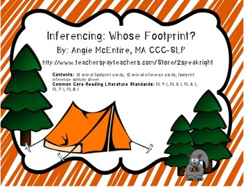Inferencing: Whose Footprints?